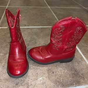 Other - Red Cowgirl Boots
